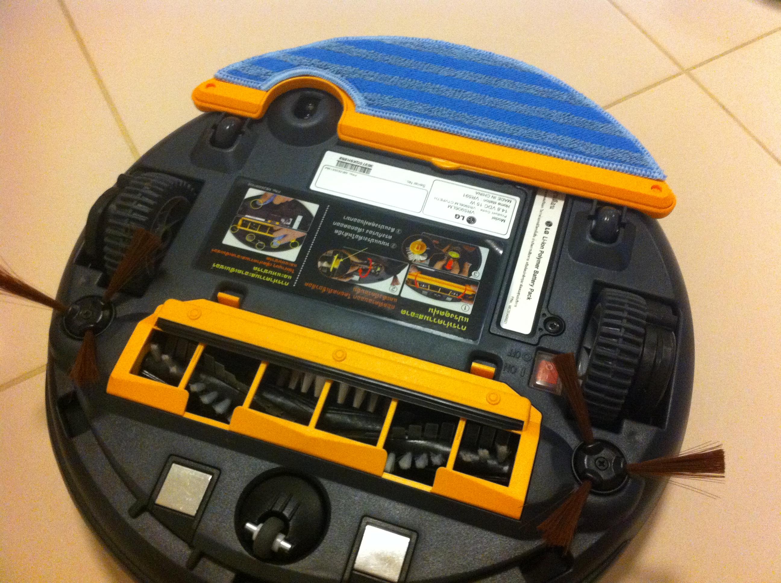 LG HOM-BOT-หุ่นยนต์ดูดฝุ่น-9