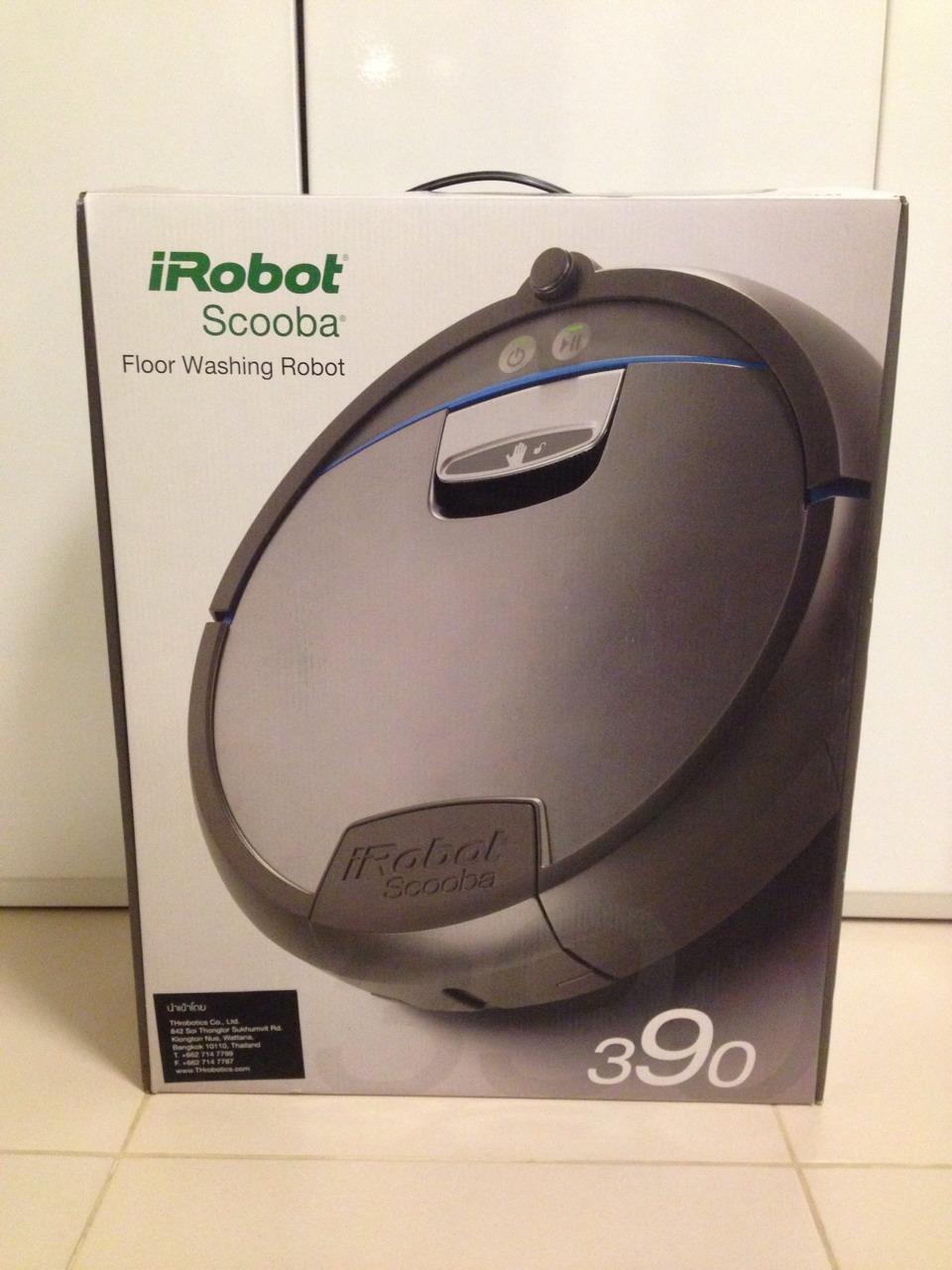 iRobot Scooba 390 Box Front
