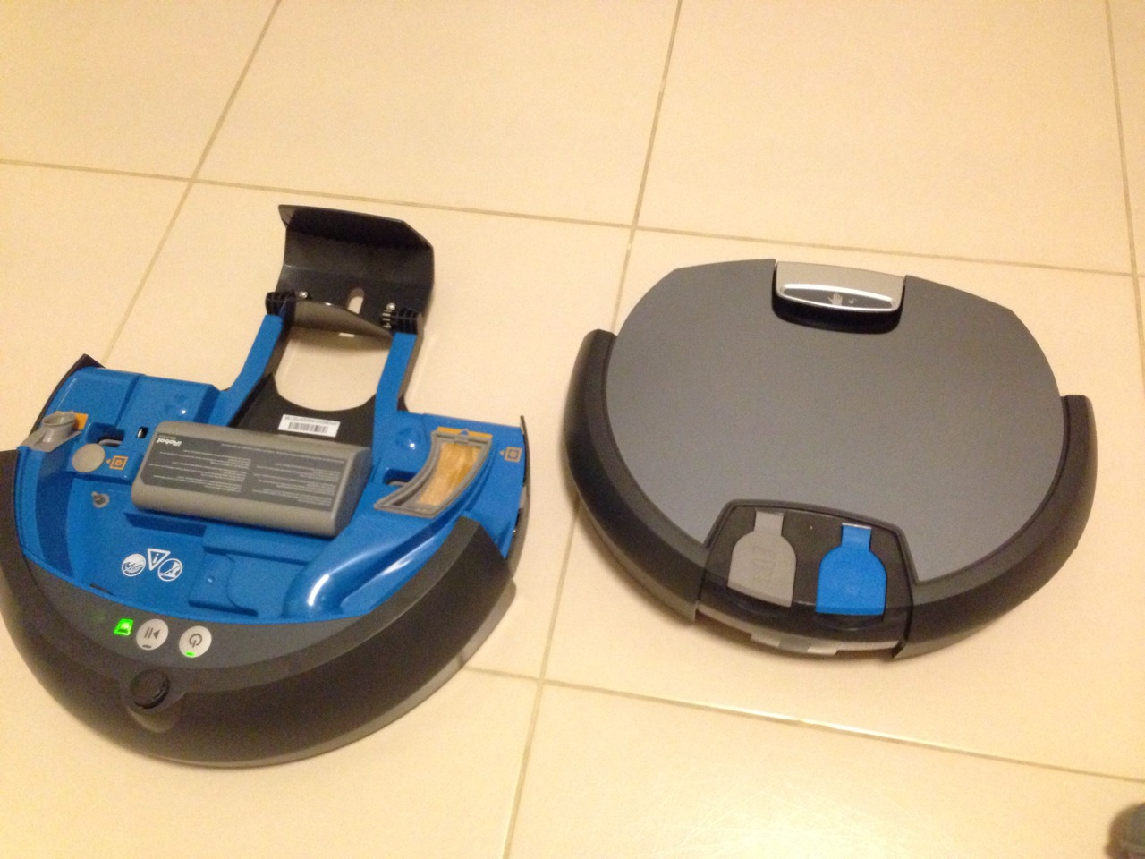 iRobot Scooba 390 Cover Removed