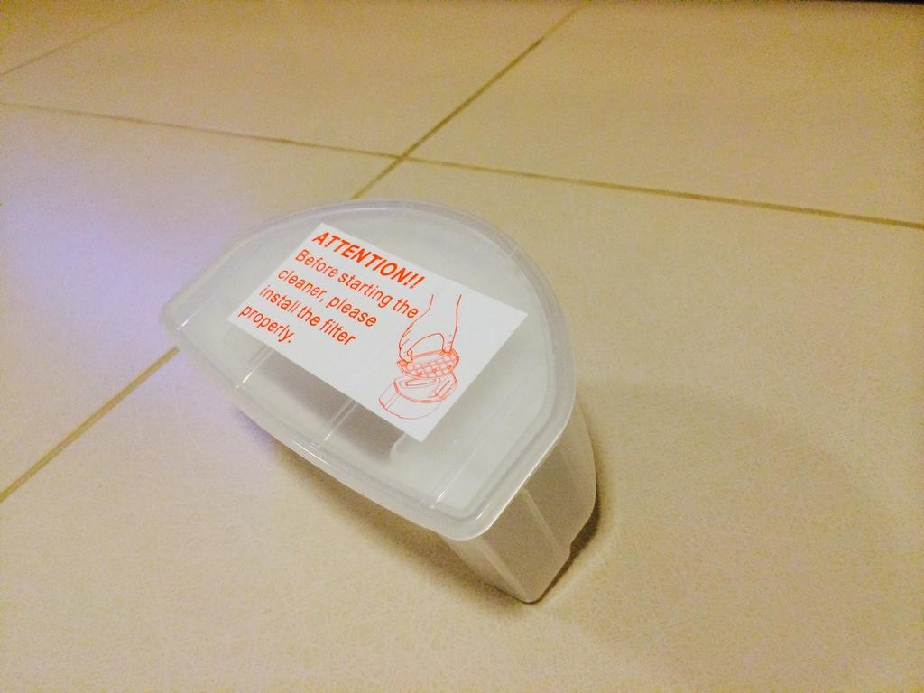 Autobot Mini Robot Vacuum กล่องใส่ขยะฝุ่นละออง