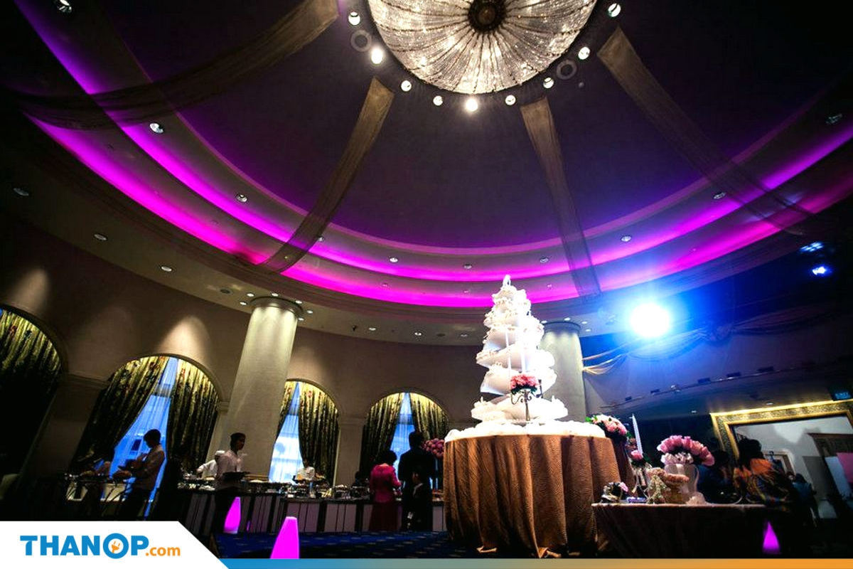 Marriage Certificate Article Wedding Ceremony in Hotel Ballroom