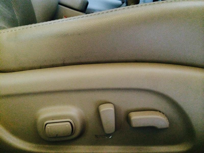 Nissan-Teana-L33-Driver-Adjustable-Seat