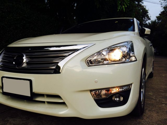 Nissan Teana L33 Front View Zoom