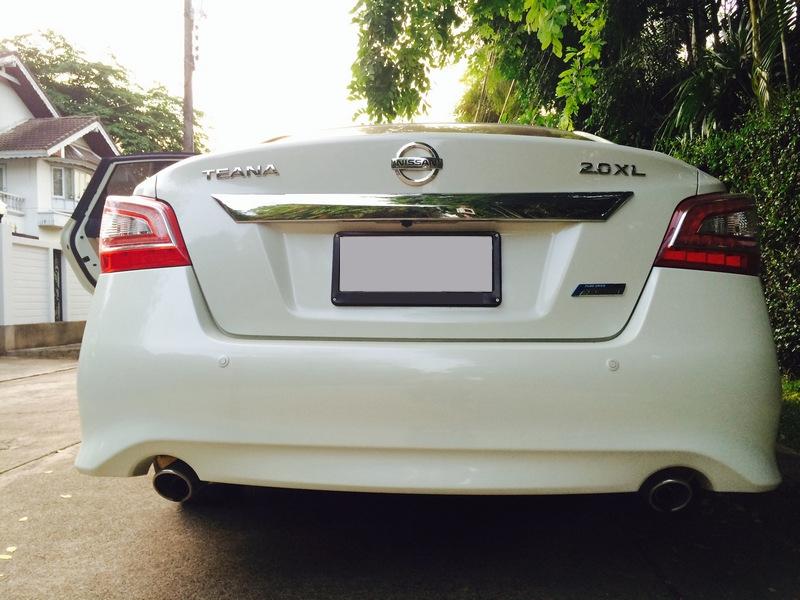 Nissan-Teana-L33-Rear-View