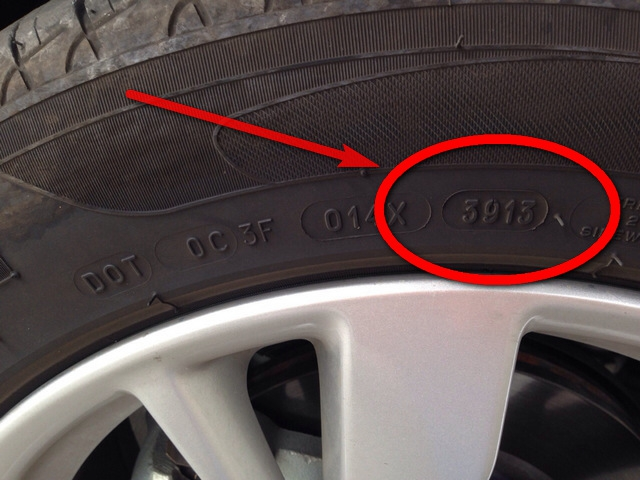 Nissan Teana L33 Tyre TimeStamped (ยางติดรถ นิสสันเทียน่า 2014)