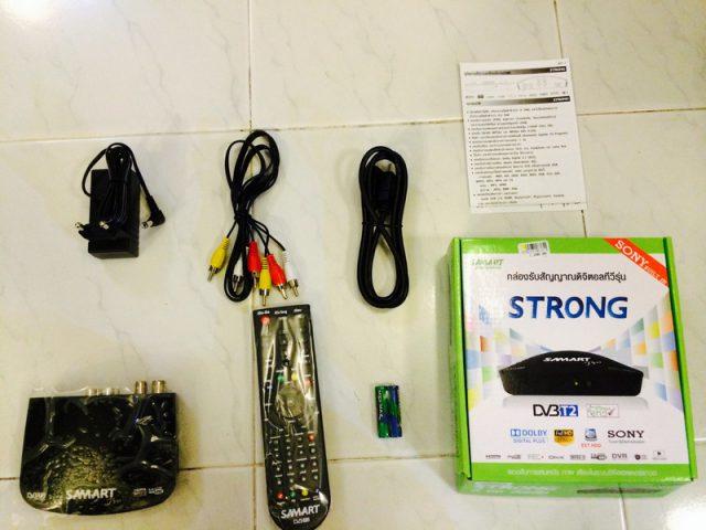 Samart Strong Box Component (อุปกรณ์ใน กล่องทีวีดิจิตอล Samart)