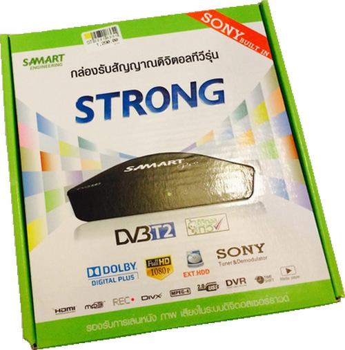 กล่องทีวีดิจิตอล Samart รุ่น Strong