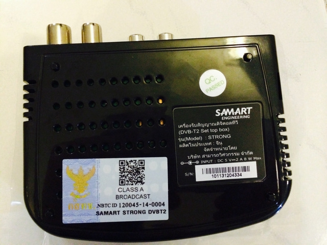 Samart Strong Box Panel UnderSide