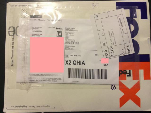 Disney-Cruise-Document-Contract-Envelope