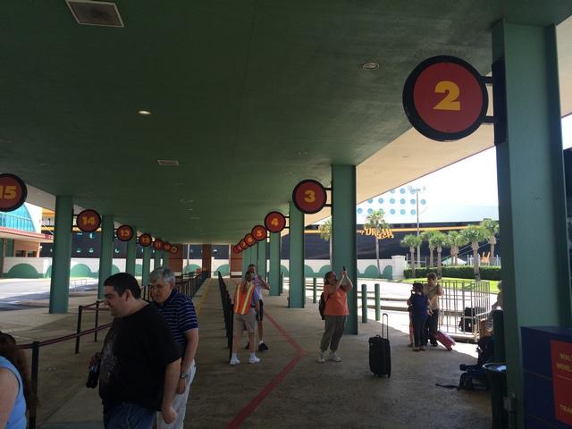 Disney Cruise Line Bus Terminal