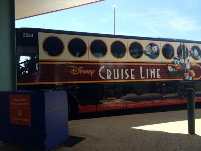 Disney-Cruise-Line-Transportation-Bus-Arrival