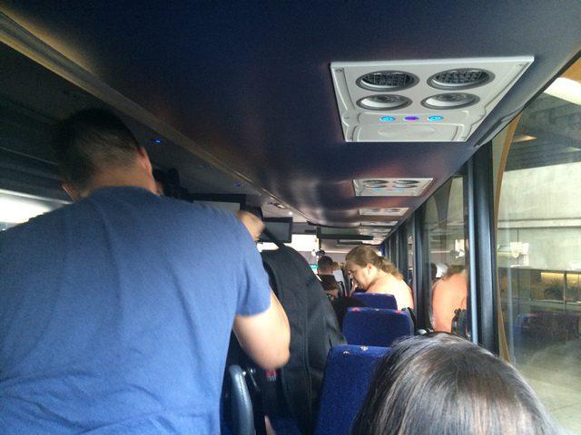 Disney Cruise Line Transportation Bus Inside 1