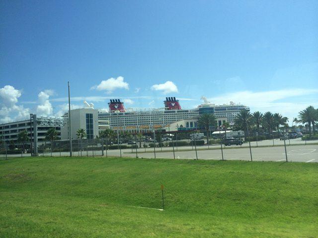 Disney Dream at Port Canaveral 1