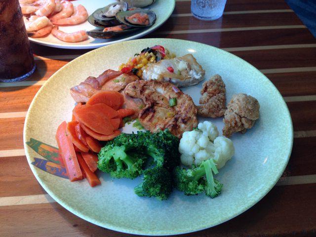 Disney Cruise Dream Cabana Buffet Food 1