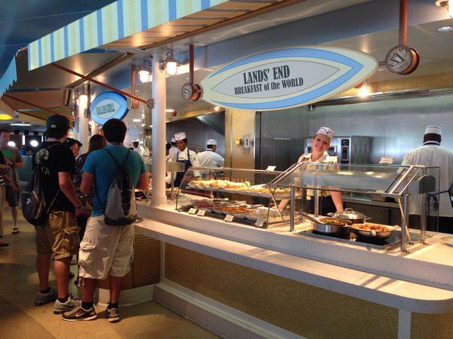 Disney Cruise Dream Cabana Buffet Room 2