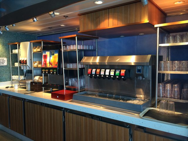 Disney Cruise Dream Cabana Buffet Room 3