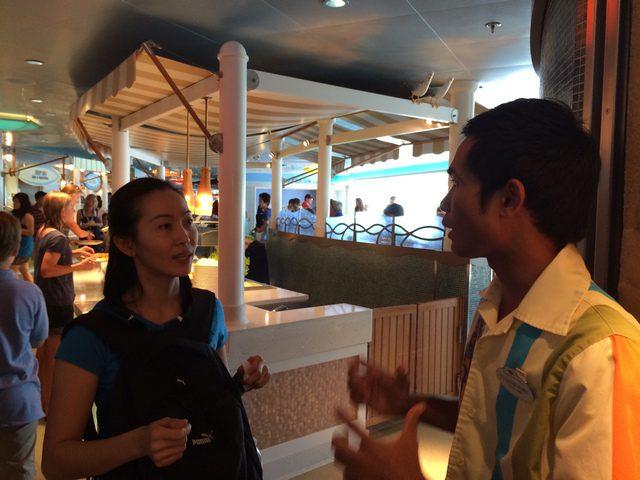 Disney Cruise Dream Cabana Buffet Room 4