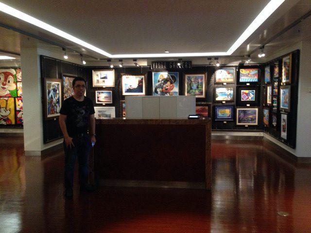 Disney Cruise Dream Gallery Room 1
