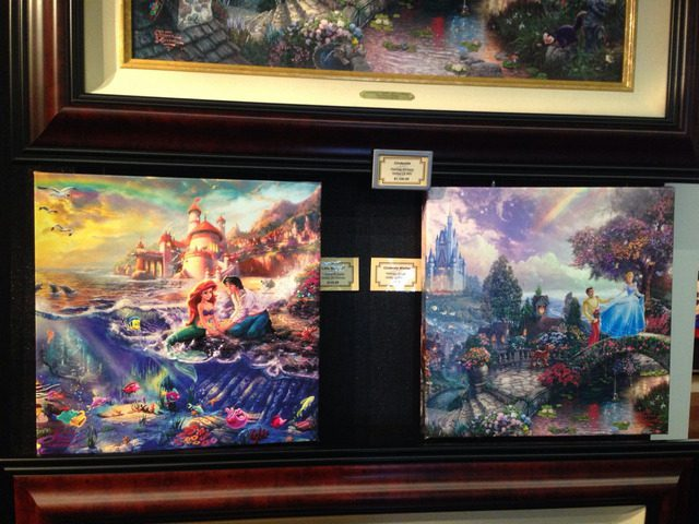 Disney Cruise Dream Gallery Room 2