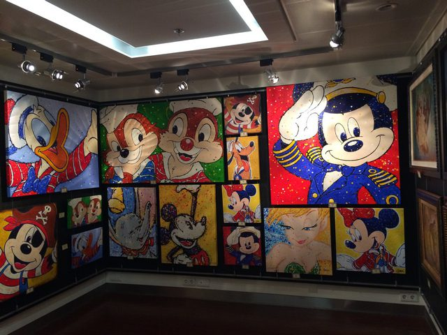 Disney Cruise Dream Gallery Room 3