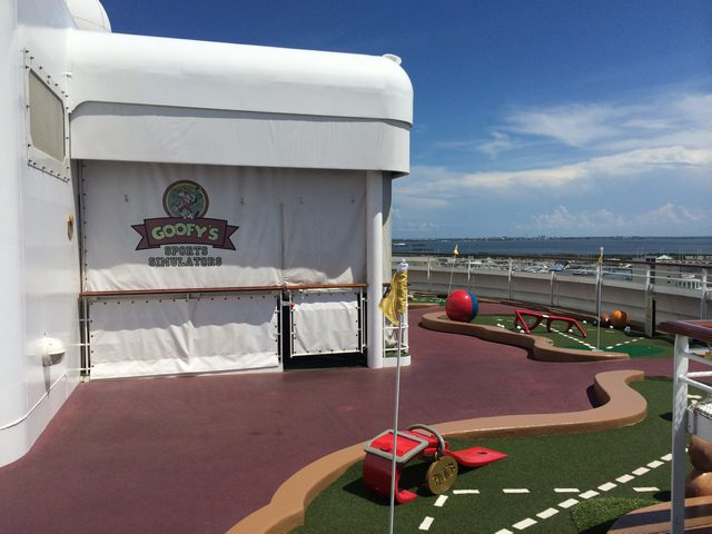 Disney Cruise Dream Golf Simulator 2