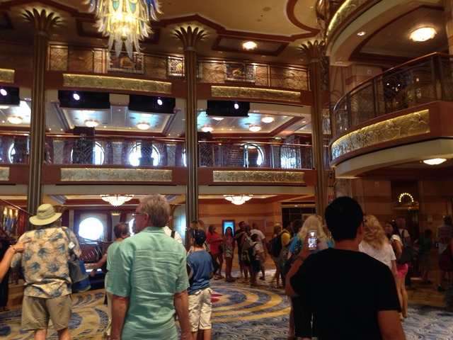 Disney Cruise Dream Main Lobby 1