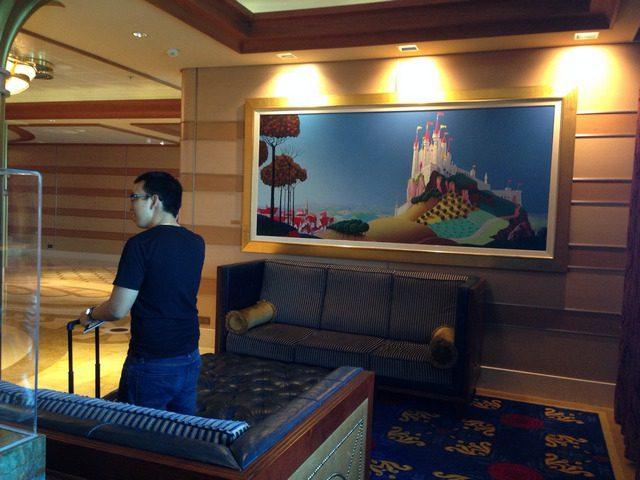 Disney Cruise Dream Main Lobby 2