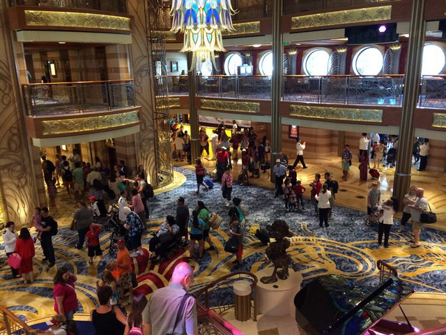 Disney Cruise Dream Main Lobby 3