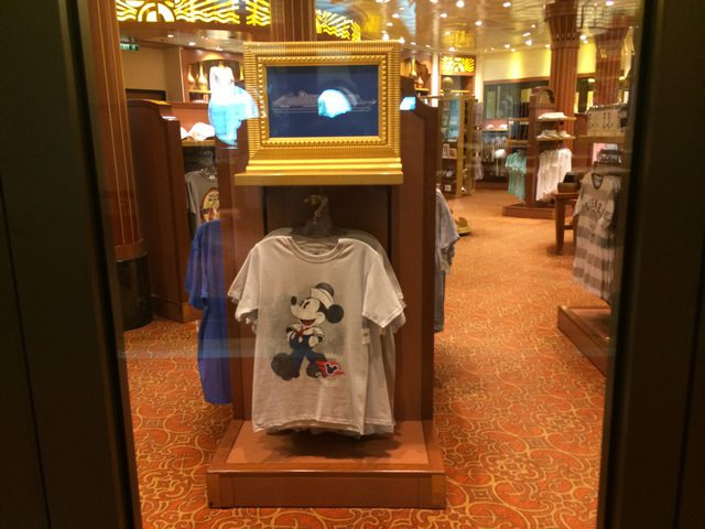 Disney Cruise Dream Merchandise Store 1