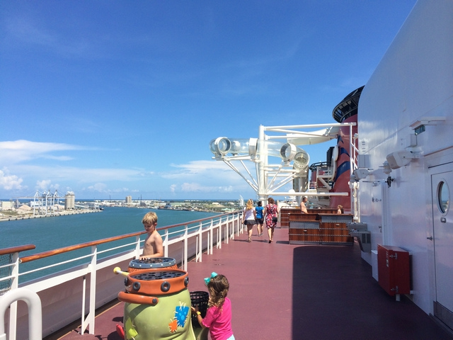 Disney Cruise Dream Roof Deck 1
