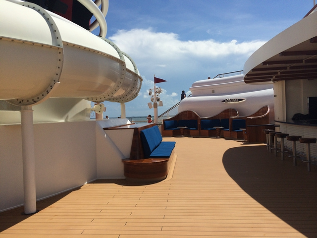 Disney Cruise Dream Roof Deck 2