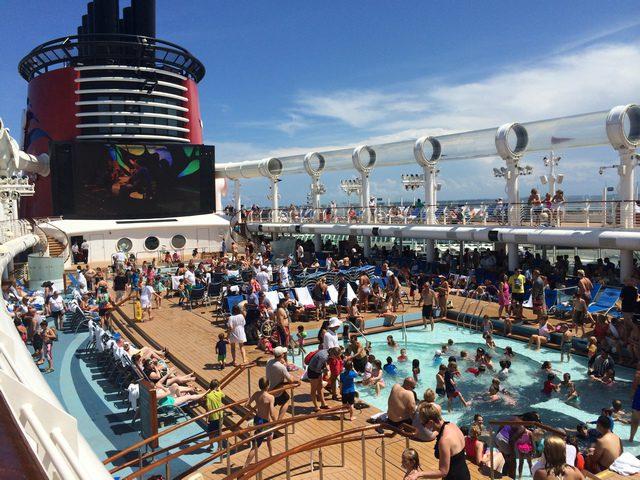 Disney Cruise Dream Roof Deck 3