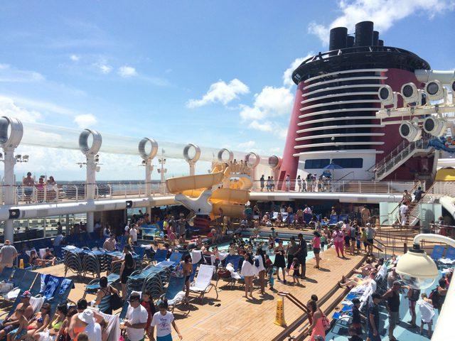 Disney Cruise Dream Roof Deck 4