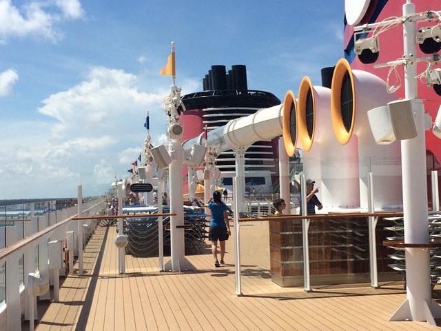 Disney Cruise Dream Roof Deck 5