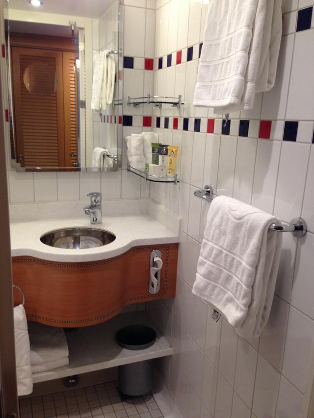 Disney Cruise Dream Stateroom Verandah Bathroom 2