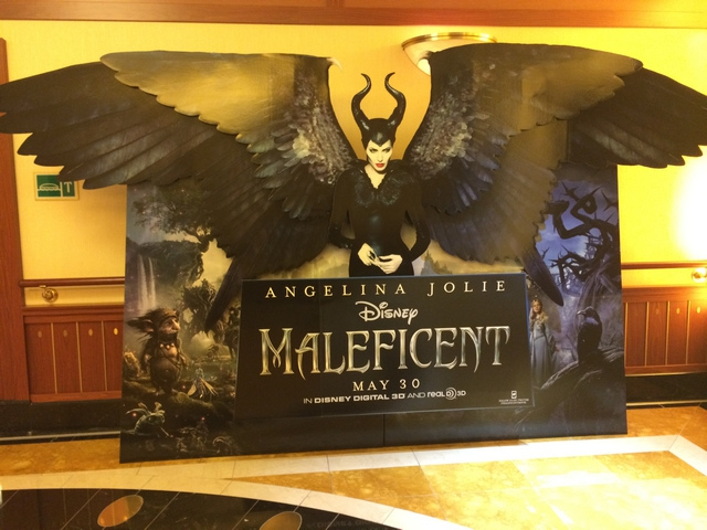 Disney Cruise Dream WaltDisney Theatre 3 Maleficent