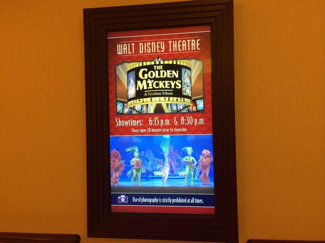 Disney Cruise Dream WaltDisney Theatre 4 Schedule