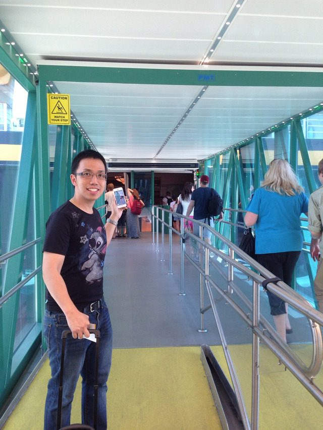 Disney Cruise Line Cruise Terminal Bridge