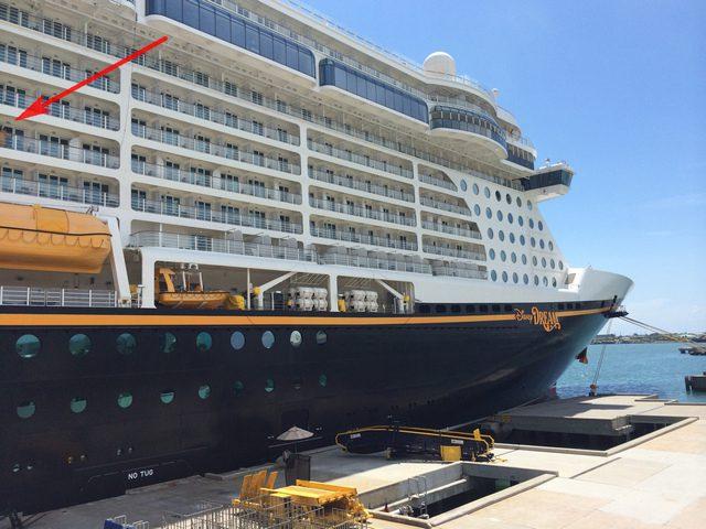 Disney Cruise Line Cruise Terminal Observation Deck 1