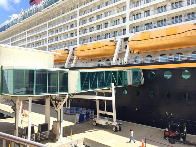 Disney Cruise Line Cruise Terminal Observation Deck 2