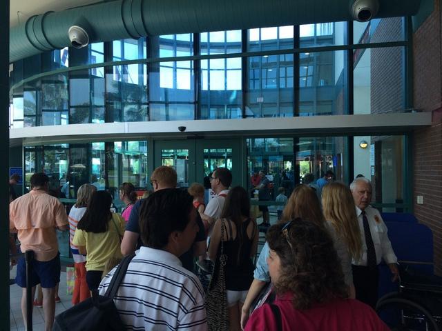 Disney-Cruise-Line-Cruise-Terminal-Security-Check