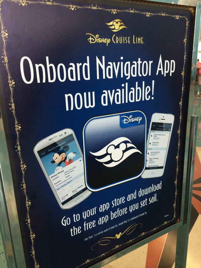 Disney Cruise Line Navigator App