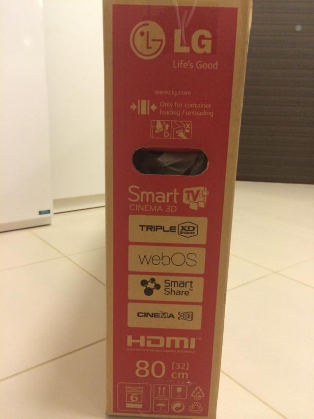 LG SmartTV 32LB650T webOS Box Left (ด้านซ้ายกล่อง)