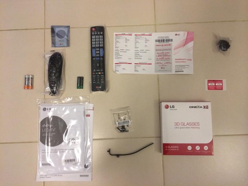 LG SmartTV 32LB650T webOS Inside Bag
