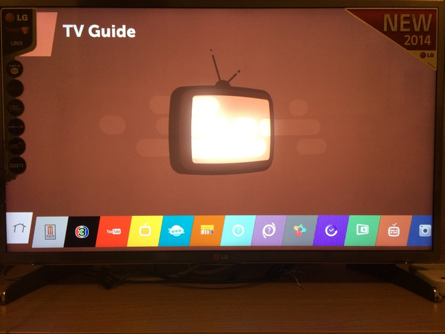 LG-SmartTV webOS Launcher My Apps