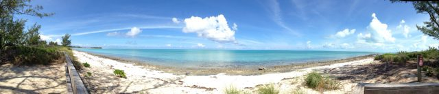 Castaway Cay Island Beach Panorama