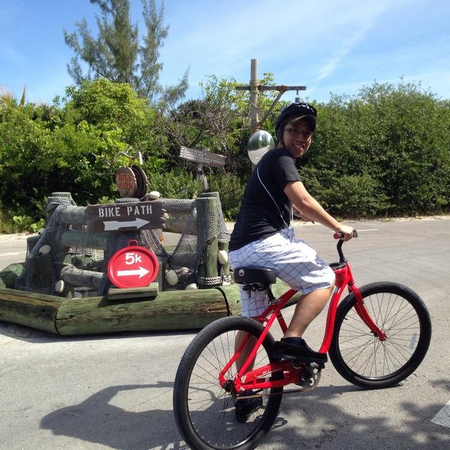 Castaway Cay Island Bike Path