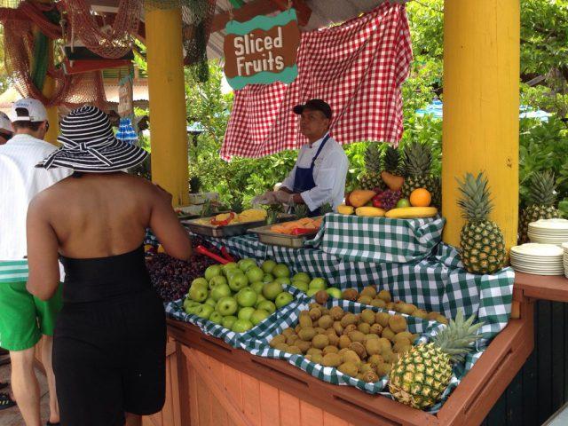 Castaway Cay Island Fruit Booth 2