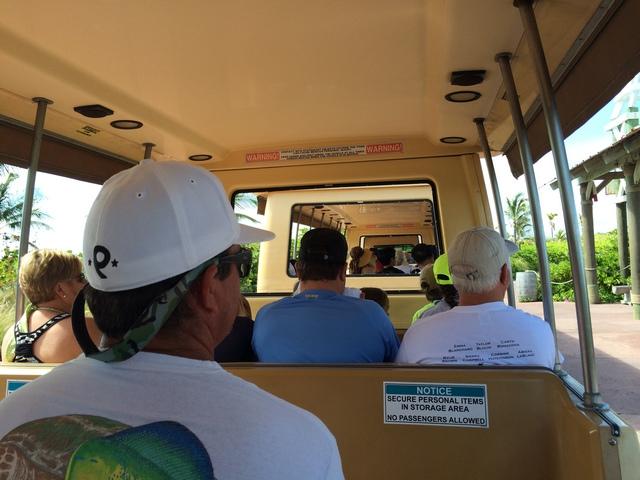 Castaway Cay Island Tram