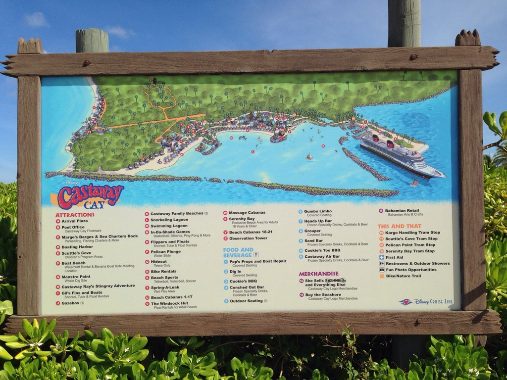 Castaway-Cay-Island-Welcome-Map